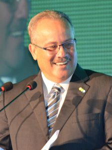 H.E. Mike de Meza – Vice-Prime Minister of Aruba